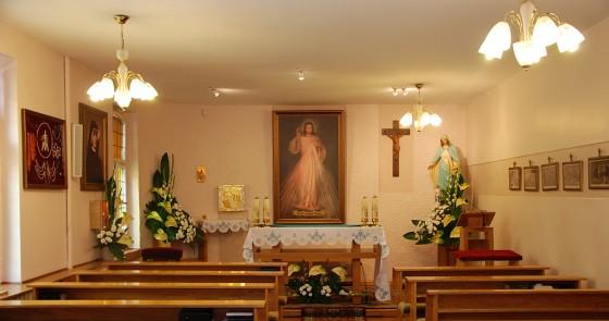 Porzadek nabozenstw w Sanktuarium św. Faustyny w Kiekrzu